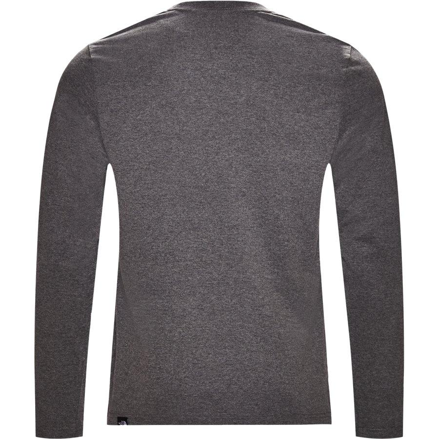 FINE TEE LS - Fine Tee LS - T-shirts - Regular - GRÅ - 2