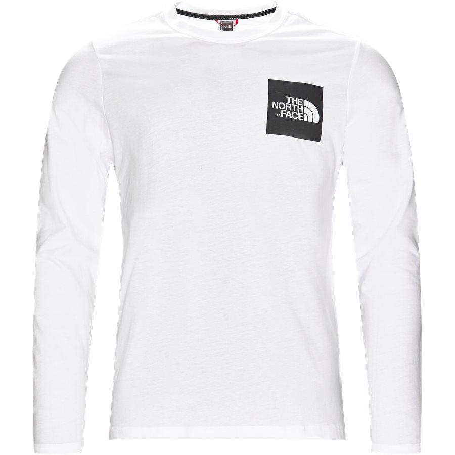 FINE TEE LS - Fine Tee LS - T-shirts - Regular - HVID - 1