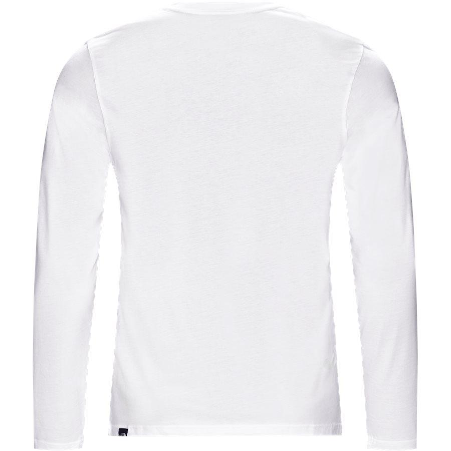 FINE TEE LS - Fine Tee LS - T-shirts - Regular - HVID - 2