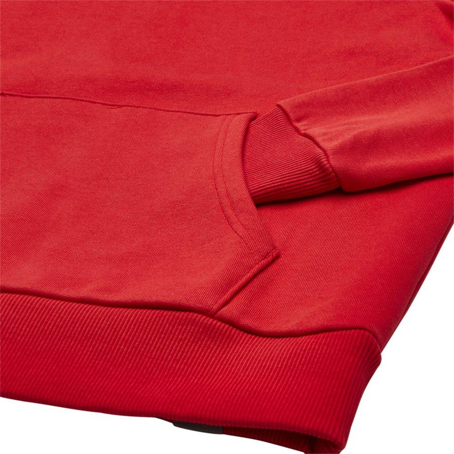 RAGLAN RED BOX HOODIE - Raglan Red Box Hoodie - Sweatshirts - Regular - RØD - 5