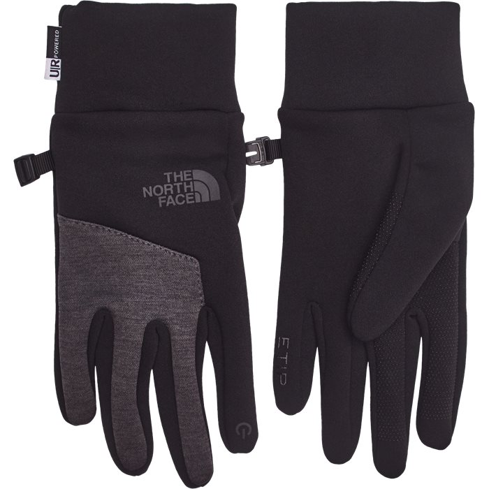 Etip Gloves - Handsker - Grå