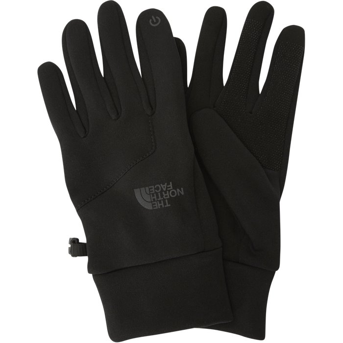 Etip Gloves - Handsker - Sort