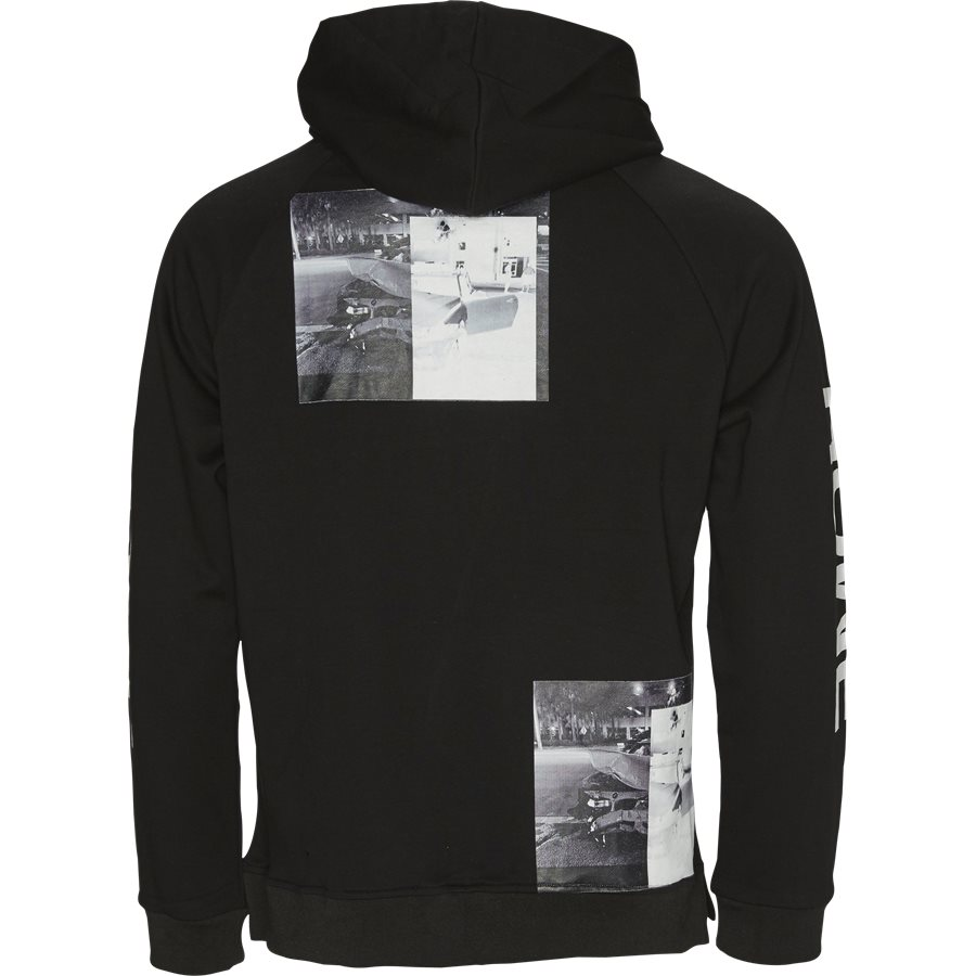 CAR CRASH HOODIE - Car Crash Hoodie - Sweatshirts - Regular - SORT - 2