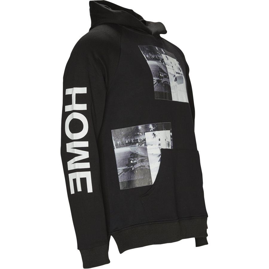 CAR CRASH HOODIE - Car Crash Hoodie - Sweatshirts - Regular - SORT - 4