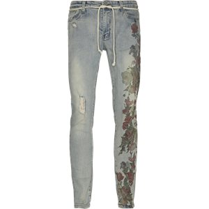 Printed Hand Art Jeans Regular | Printed Hand Art Jeans | Denim