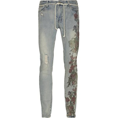 Printed Hand Art Jeans Regular | Printed Hand Art Jeans | Denim
