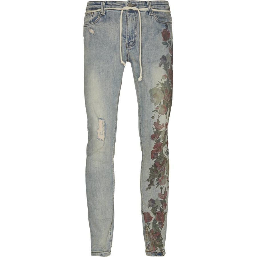 PRINTED HAND ART JEANS - Jeans - Regular - DENIM - 1