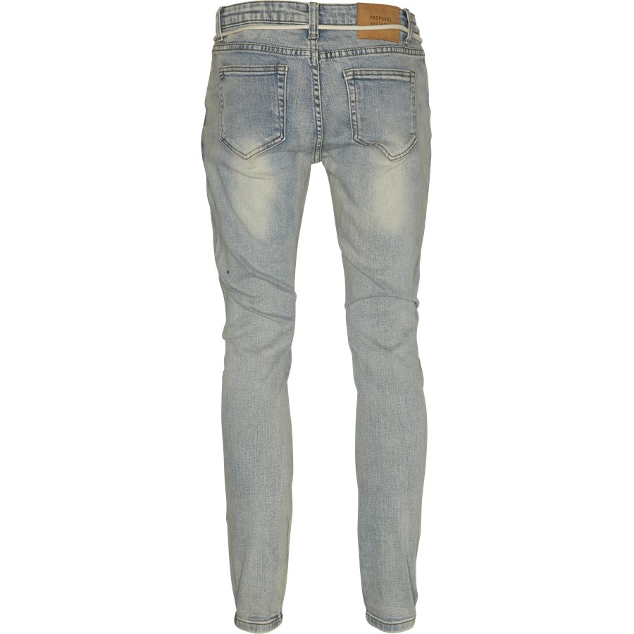 PRINTED HAND ART JEANS - Jeans - Regular - DENIM - 2