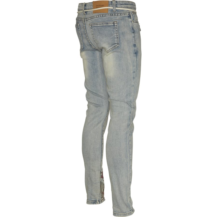 PRINTED HAND ART JEANS - Printed Hand Art Jeans - Jeans - Regular - DENIM - 3