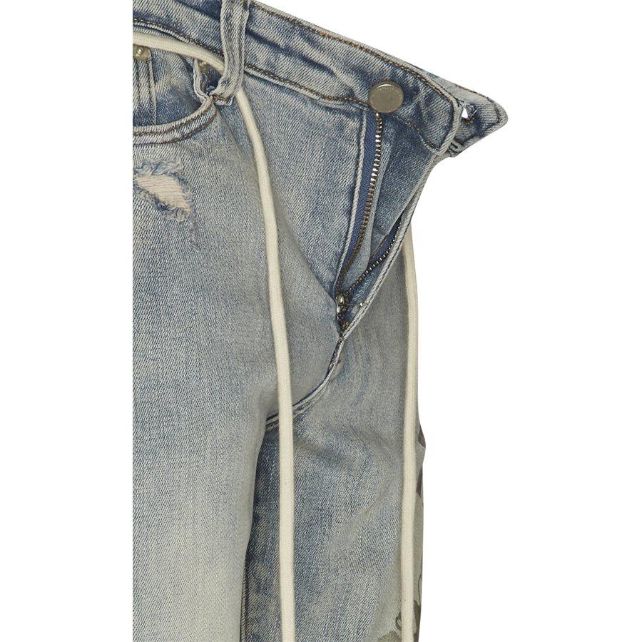 PRINTED HAND ART JEANS - Jeans - Regular - DENIM - 4