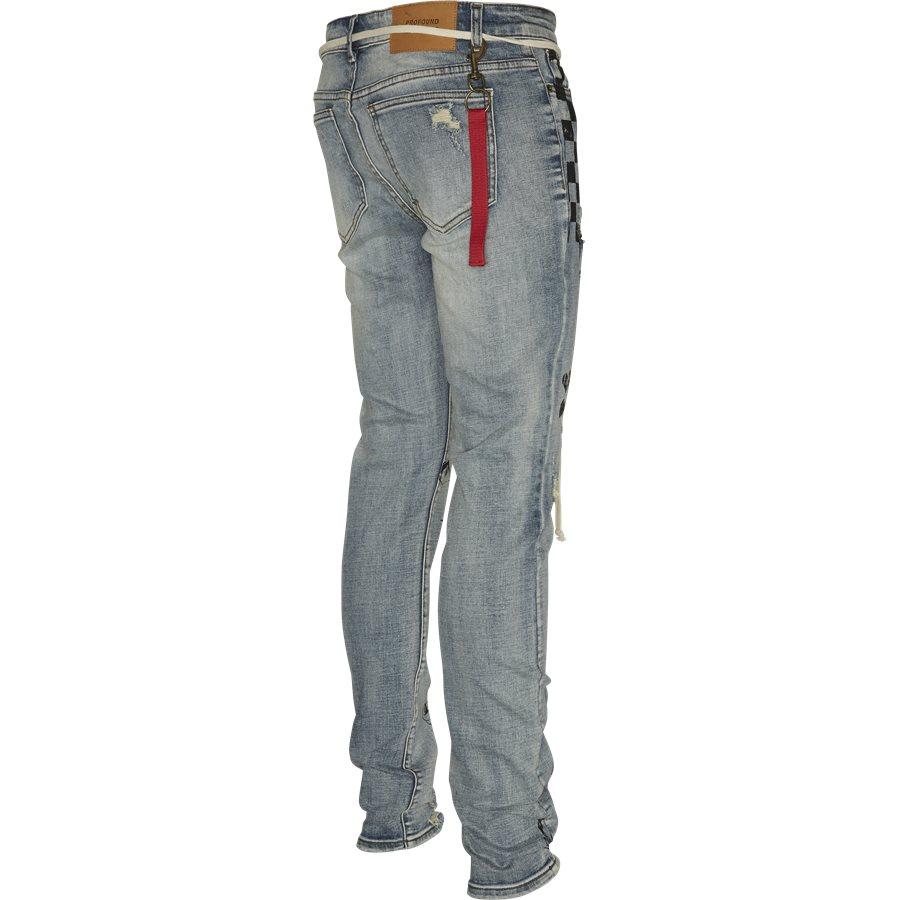 PRINTED FLORAL JEANS - Printed Floral Jeans - Jeans - Regular - DENIM - 3