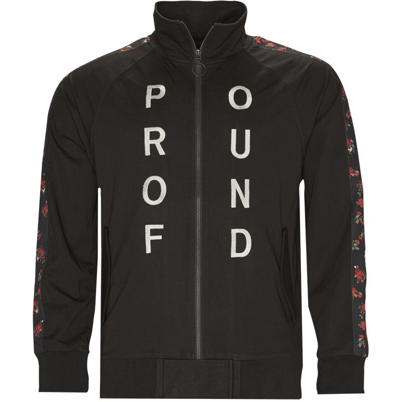 Billede af Profound Aesthetic Rose Zip Up Track Suit Sort