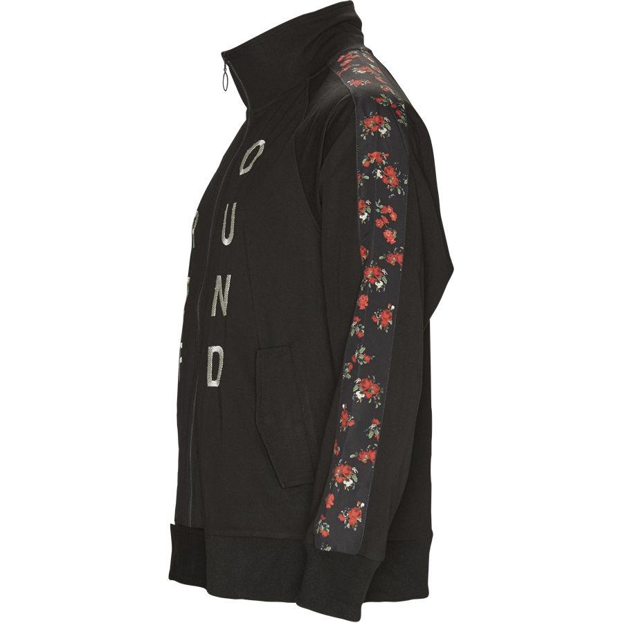 ROSE ZIP UP TRACK SUIT - Rose Zip Up Track Top - Sweatshirts - Regular - SORT - 3