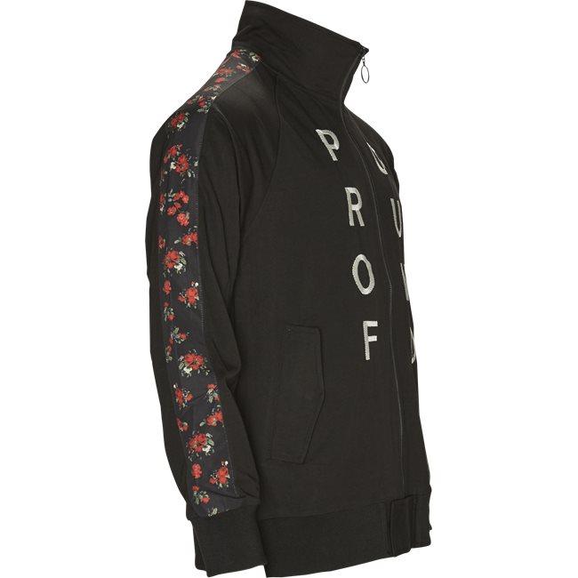Rose Zip Up Track Top
