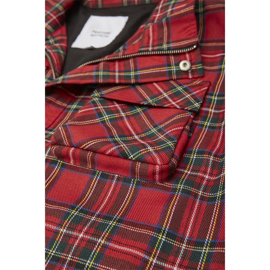 QUAD POCKET PLAID - Quad Pocket Plaid - Jakker - Regular - TERN - 4