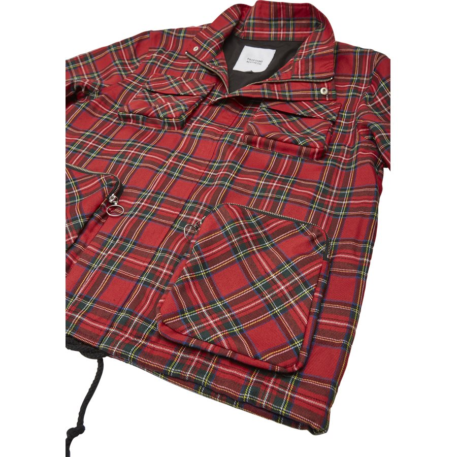 QUAD POCKET PLAID - Quad Pocket Plaid - Jakker - Regular - TERN - 6