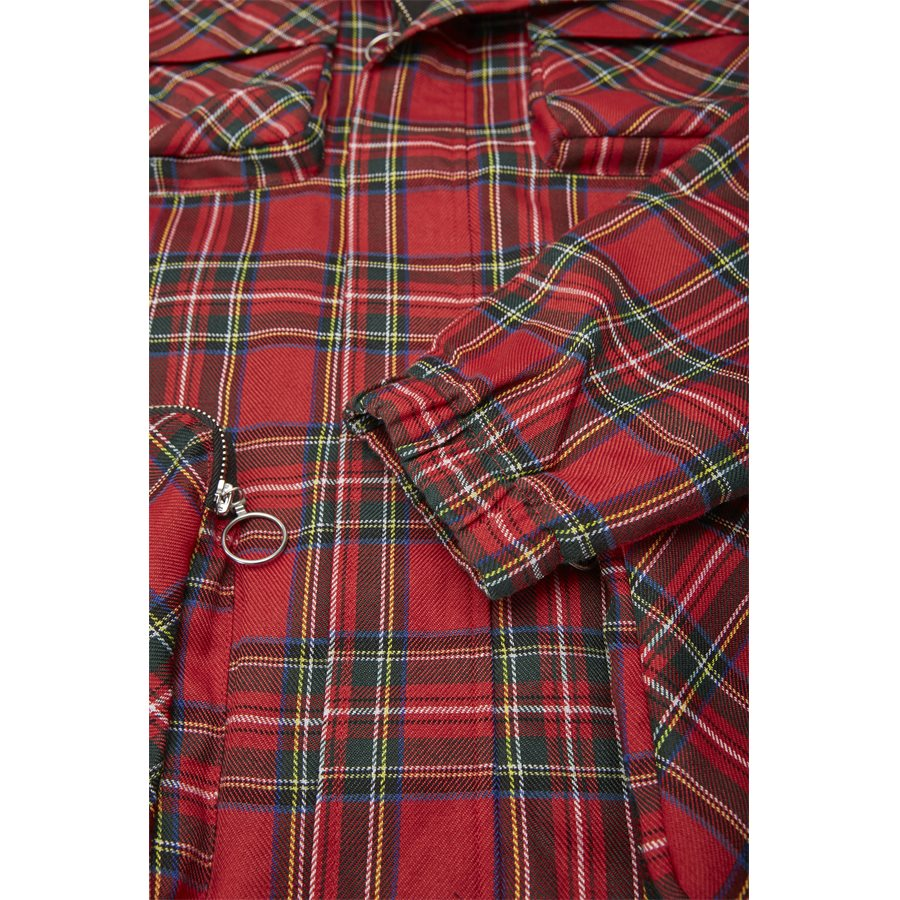 QUAD POCKET PLAID - Quad Pocket Plaid - Jakker - Regular - TERN - 7