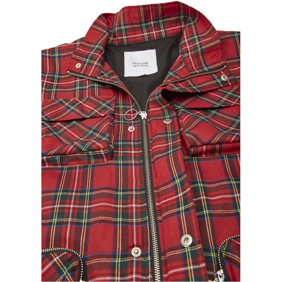 QUAD POCKET PLAID - Quad Pocket Plaid - Jakker - Regular - TERN - 8