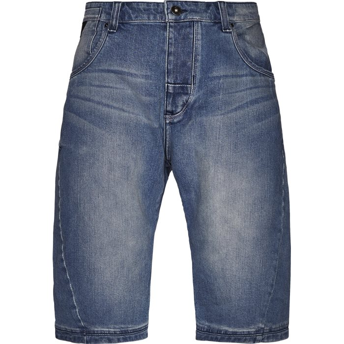 Shorts - Loose - Denim