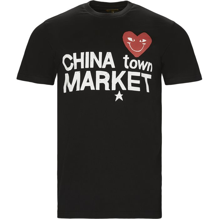 Comme De Chinatown - T-shirts - Regular - Sort