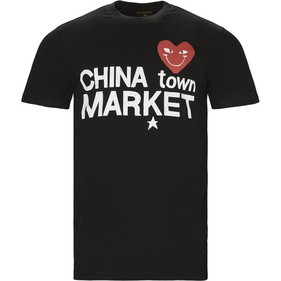 COMME DE CHINATOWN - Comme De Chinatown - T-shirts - Regular - SORT - 1