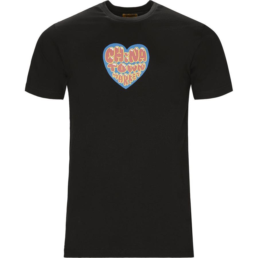 HEART - Heart - T-shirts - Regular - SORT - 1