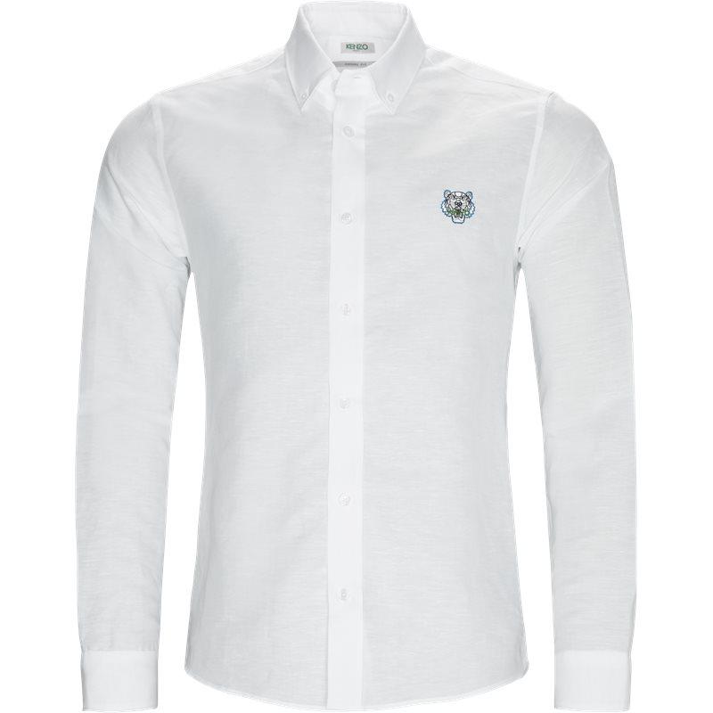 kenzo – Kenzo f8555ch4001gb skjorter hvid fra axel.dk
