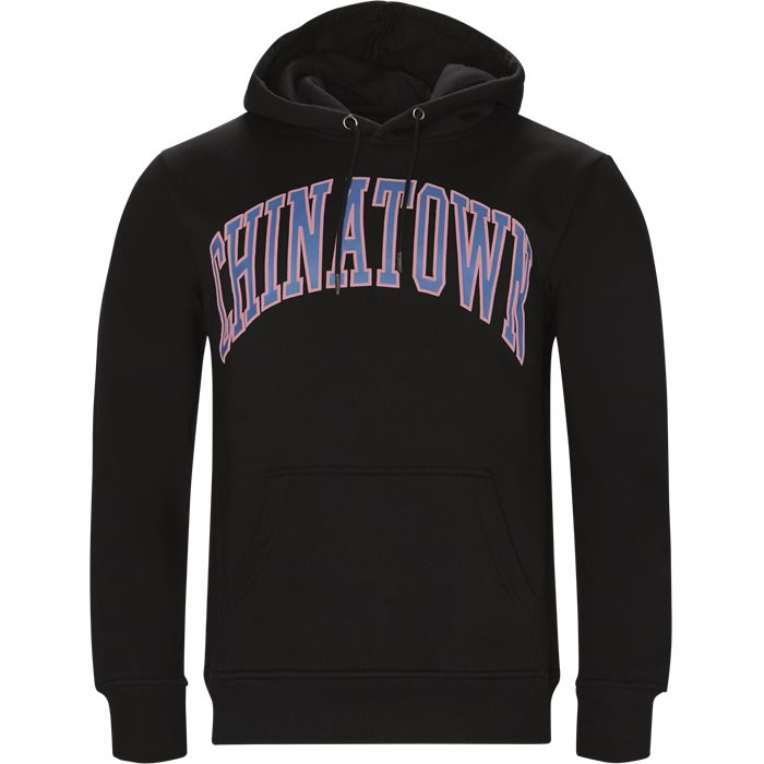 Collegiate Hoodie - Sweatshirts - Regular - Sort