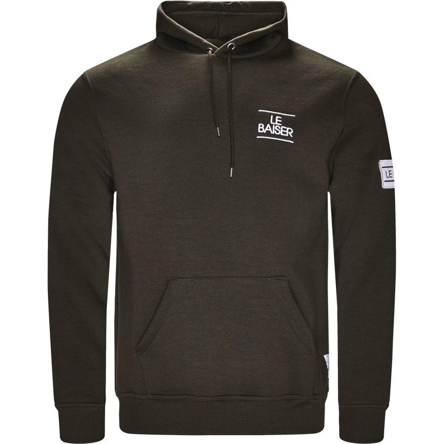 BESANCON - Besancon Sweatshirt - Sweatshirts - Regular - ARMY - 1