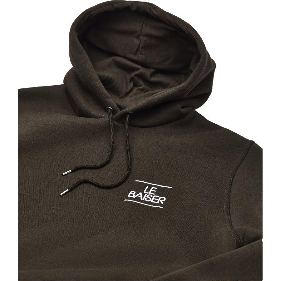 BESANCON - Besancon Sweatshirt - Sweatshirts - Regular - ARMY - 3