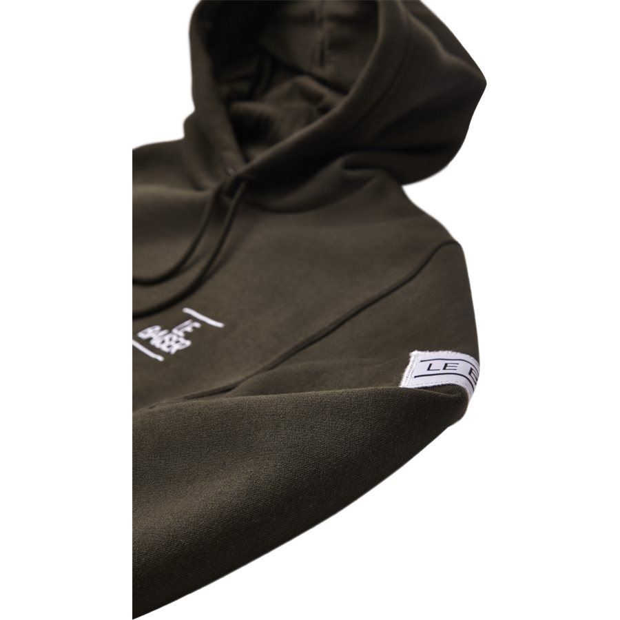 BESANCON - Besancon Sweatshirt - Sweatshirts - Regular - ARMY - 5