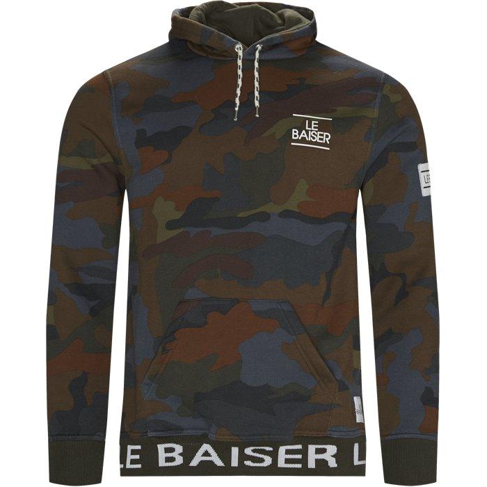 Rouen Sweatshirt - Sweatshirts - Regular - Brun
