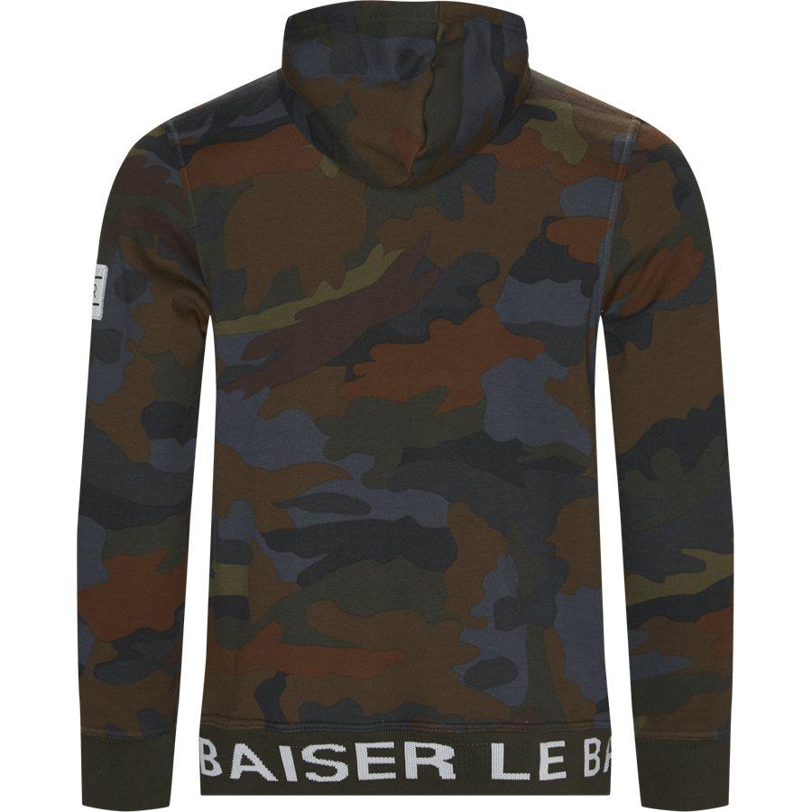 ROUEN - Rouen Sweatshirt - Sweatshirts - Regular - BRUN/OLIVE - 2