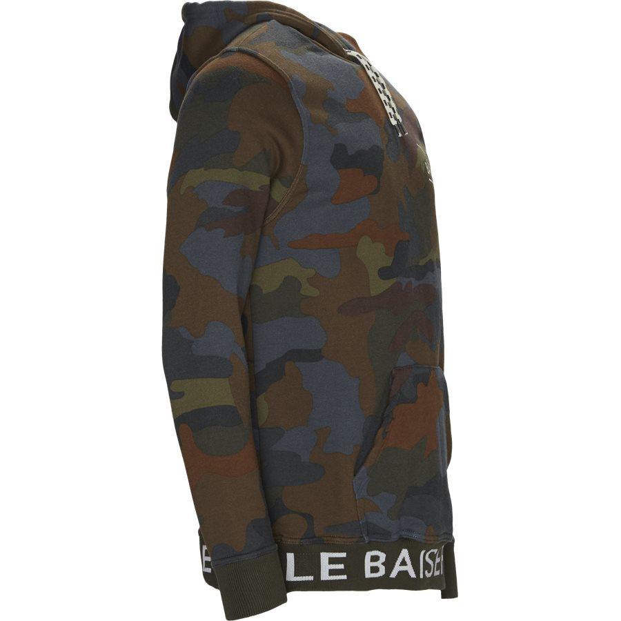 ROUEN - Rouen Sweatshirt - Sweatshirts - Regular - BRUN/OLIVE - 4