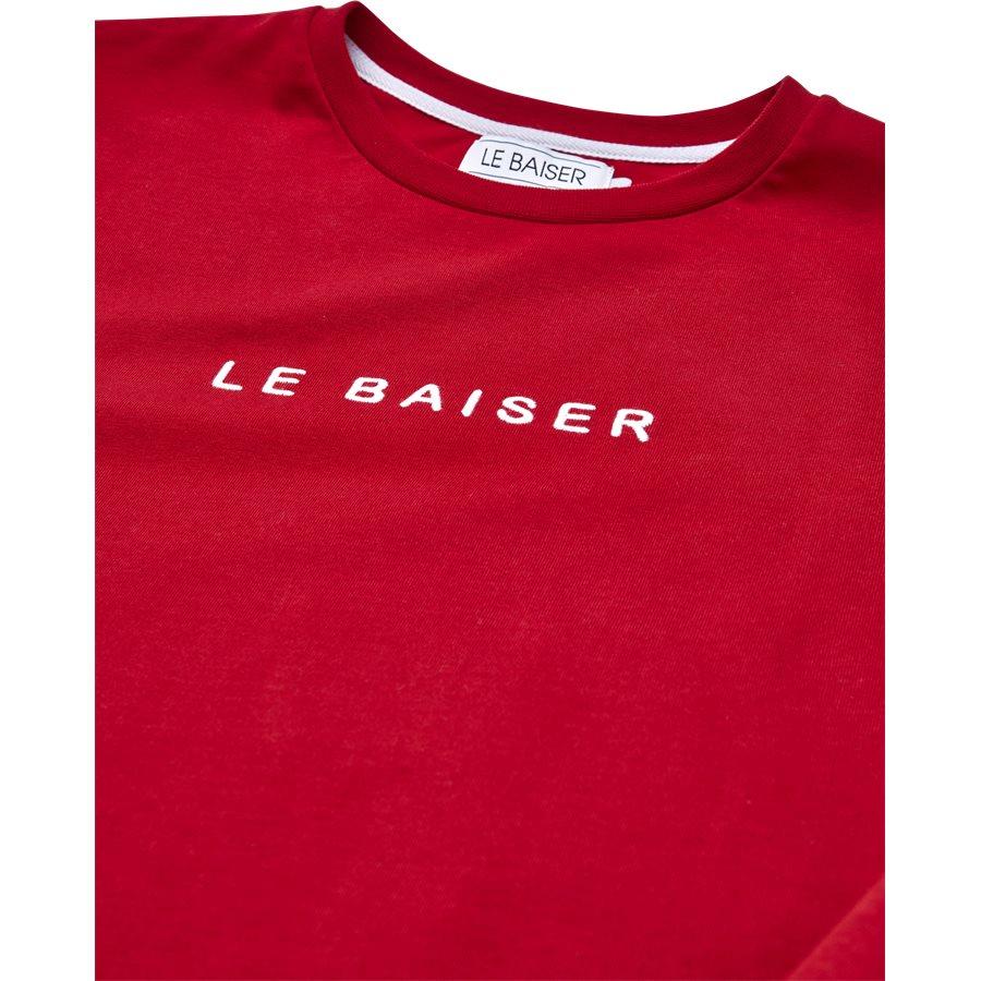 NICE - Nice - T-shirts - Regular - RED - 3