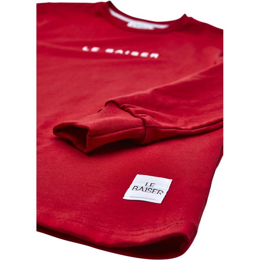 NICE - Nice - T-shirts - Regular - RED - 4
