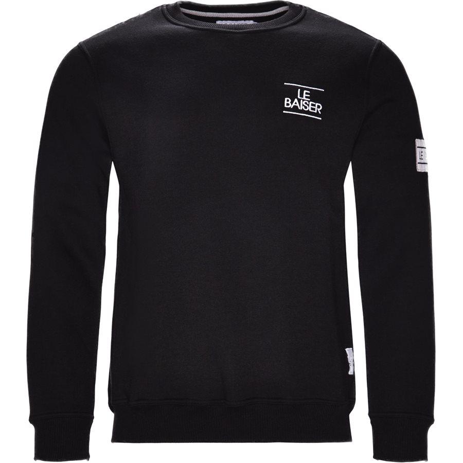 LE MANS - Le Mans Sweatshirt - Sweatshirts - Regular - SORT - 1