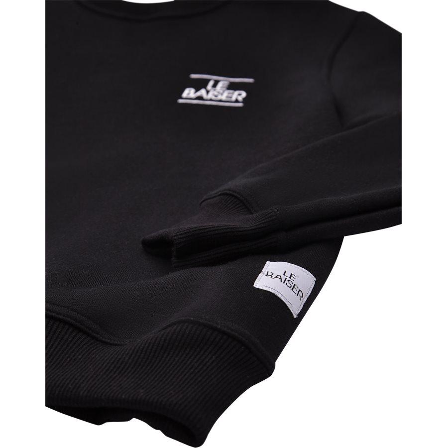 LE MANS - Le Mans Sweatshirt - Sweatshirts - Regular - SORT - 4