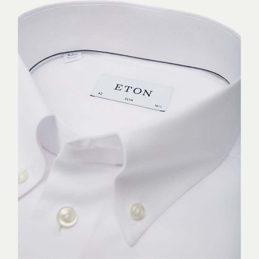 4706 53311/53511 - 4706 Button Down Pinpoint Skjorte - Skjorter - HVID - 2
