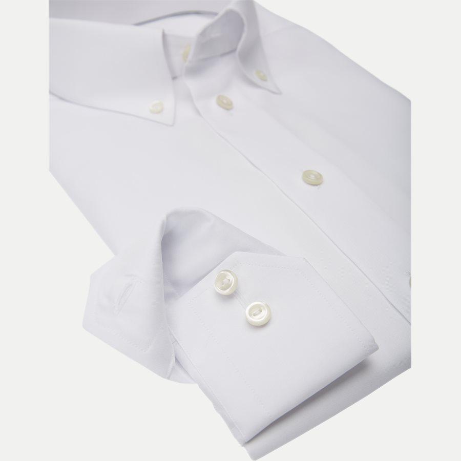 4706 53311/53511 - 4706 Button Down Pinpoint Skjorte - Skjorter - HVID - 4