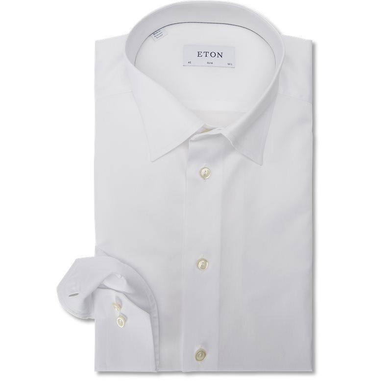 Image of   Eton - Button Under Twill Skjorte
