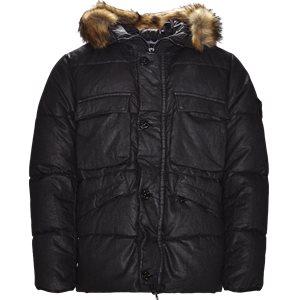 Lino Down Jacket Regular | Lino Down Jacket | Sort