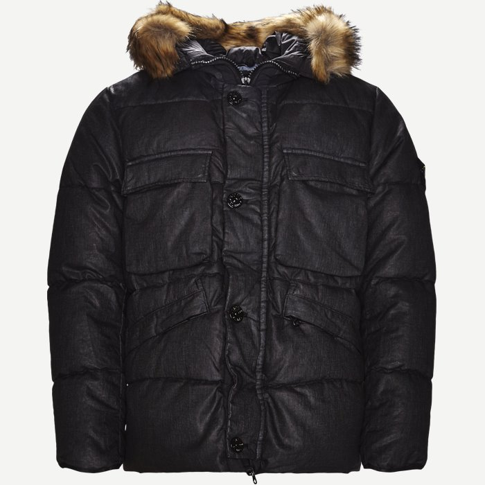 Lino Down Jacket - Jakker - Regular - Sort