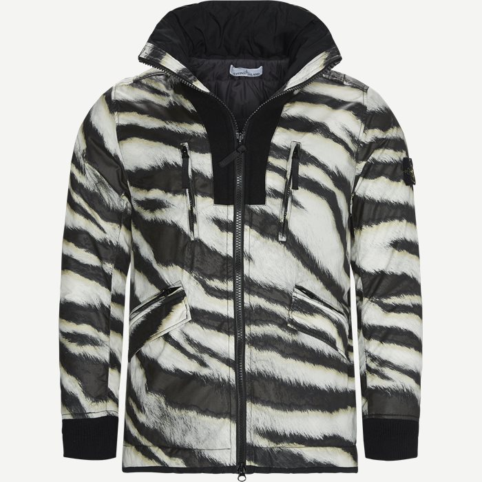 White Tiger Camo Jacket - Jakker - Regular - Sand