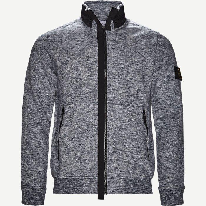 Full Zip Sweatshirt - Sweatshirts - Regular - Blå