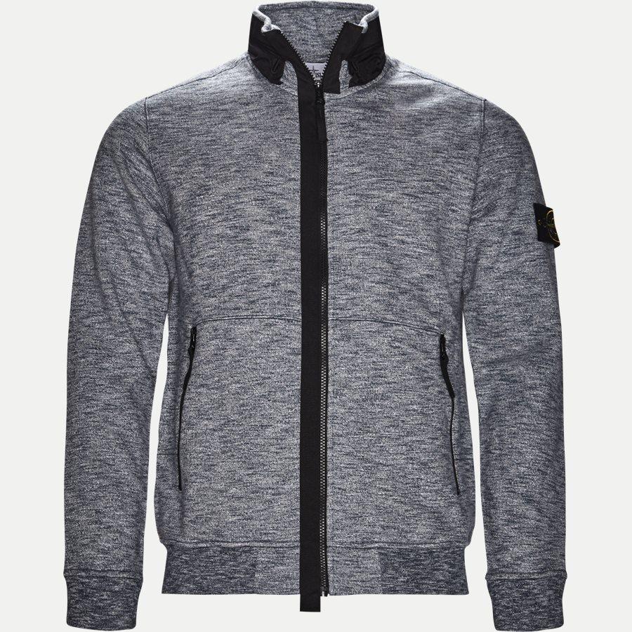 63237 - Full Zip Sweatshirt - Sweatshirts - Regular - BLÅ - 1