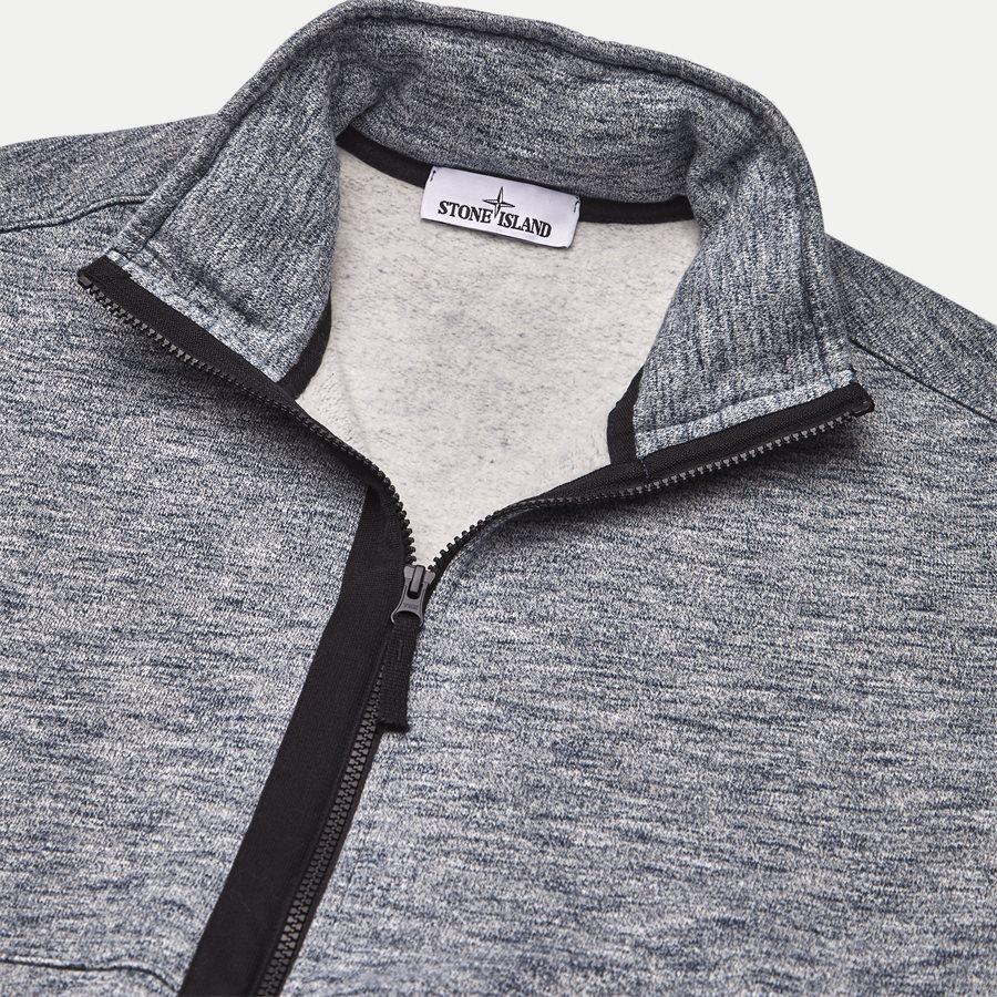 63237 - Full Zip Sweatshirt - Sweatshirts - Regular - BLÅ - 3
