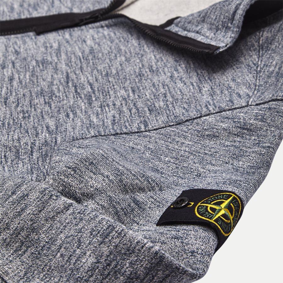 63237 - Full Zip Sweatshirt - Sweatshirts - Regular - BLÅ - 5