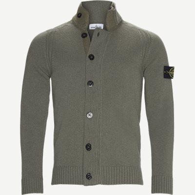 Knit Cardigan Regular | Knit Cardigan | Army