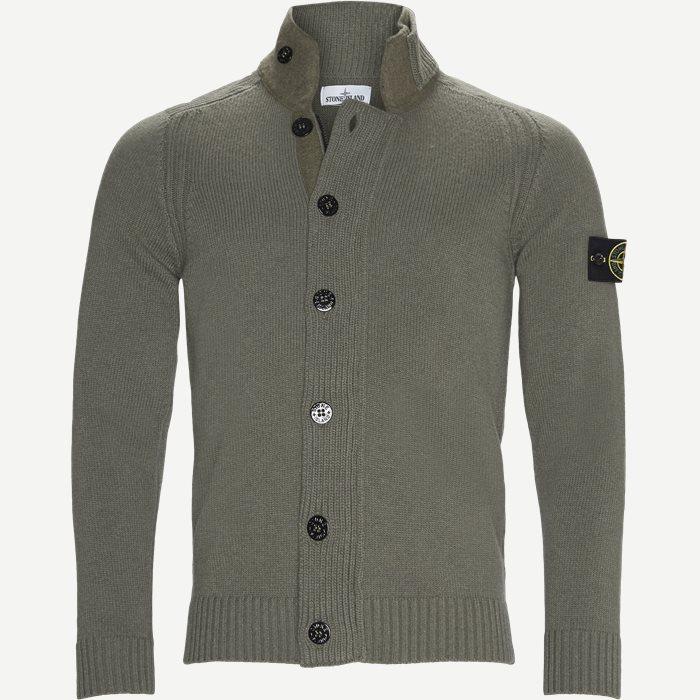 Knit Cardigan - Strik - Regular - Army